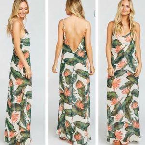 Show Me Your Mumu Paradise Found Jolie Maxi Dress